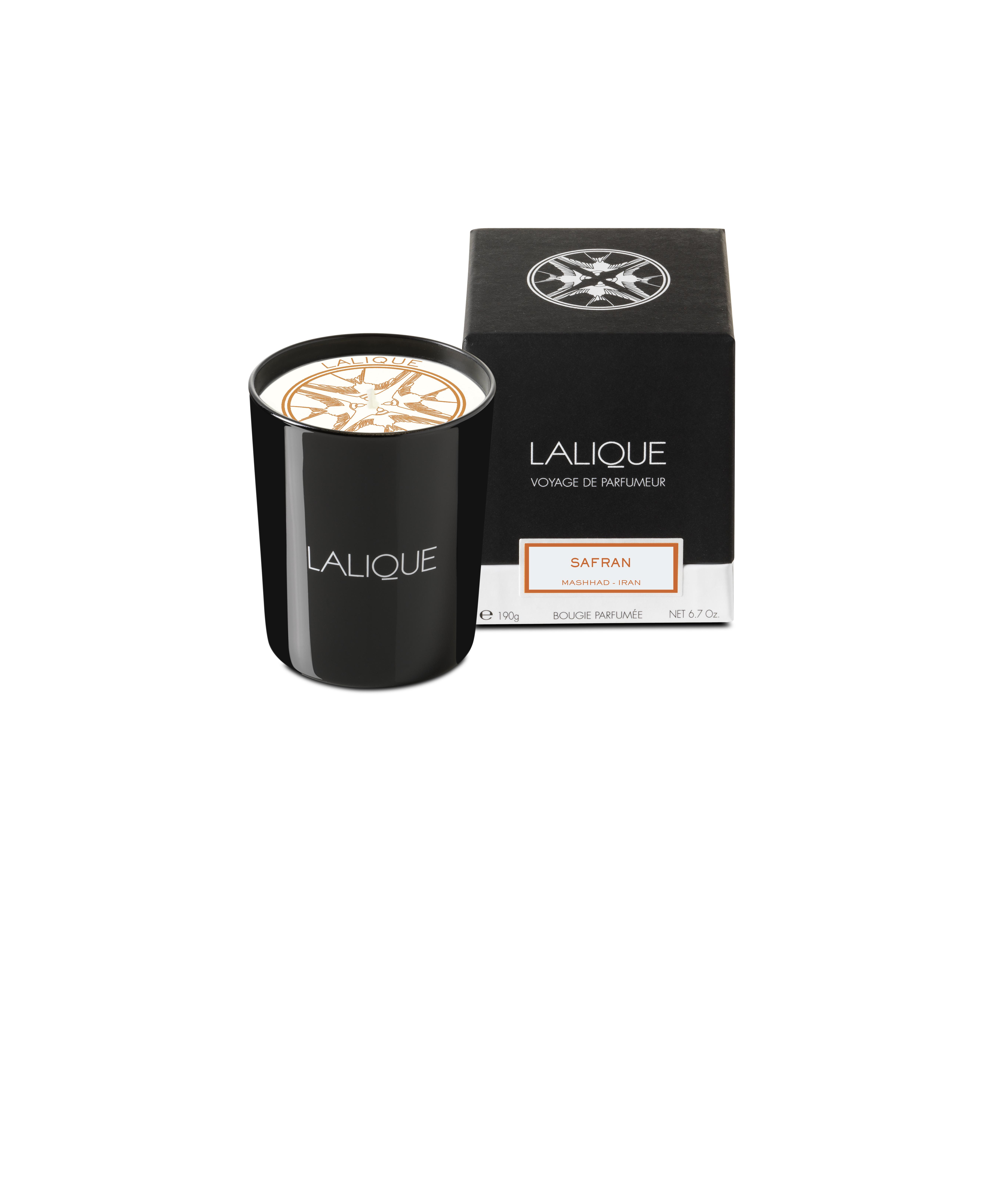 190 g LALIQUE Bougie Parfum/ée  Peuplier Aspen